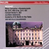 Alfred Brendel - Mozart: Concert Rondo for Piano and Orchestra in D. K.382 - 1. Allegretto grazioso