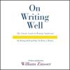 William Zinsser - On Writing Well Audio Collection artwork
