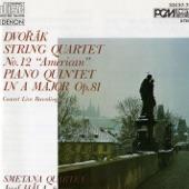 """String Quartet No. 12 in F Major, Op. 96, B. 179 """"American"""": I. Allegro Ma non Troppo artwork"""