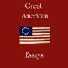 Ralph Waldo Emerson, Henry David Thoreau & Mark Twain - Great American Essays (Unabridged)  artwork