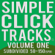 Simple Click Tracks Vol. 1 [Part One] 50-150 Bpm Subdivided (mp3 Metronome) - Josh Garlow
