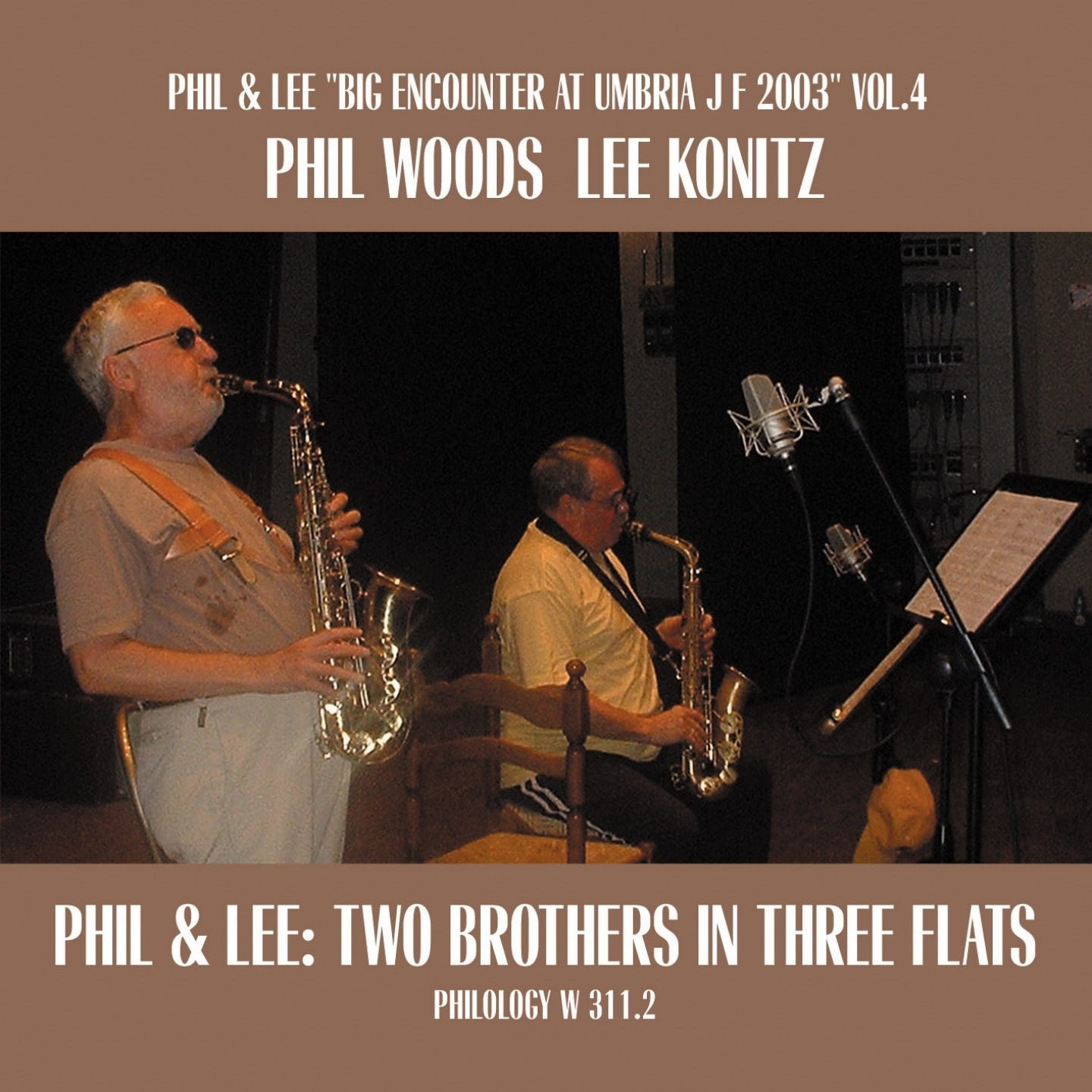 Phil & Lee: Two Brothers In Three Flats