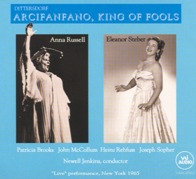 Arcifanfano, King of Fools: Act I: Recitative - Approach! What Is Your Name, Sir? (Furibondo)