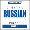 Pimsleur - Russian Phase 1, Unit 01: Learn to Speak and Understand Russian with Pimsleur Language Programs  artwork