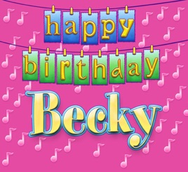 Happy birthday becky single vocal traditional happy birthday happy birthday becky single vocal traditional happy birthday song sung to becky altavistaventures Images