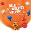 De Welpies - Alle welpies helpen kunstwerk