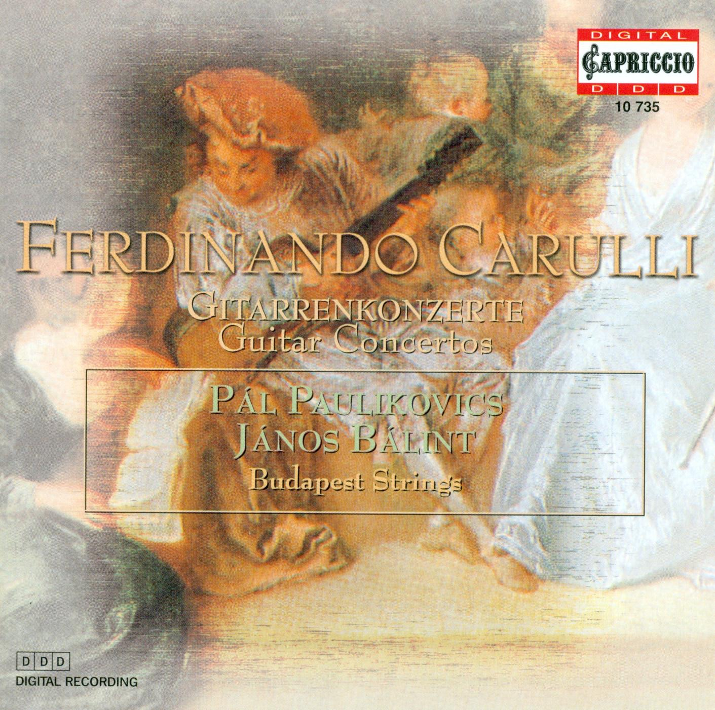 Carulli: Concerto for Flute and Guitar, Op. 8, Petit Concerto de Societe & Guitar Concerto in A Major