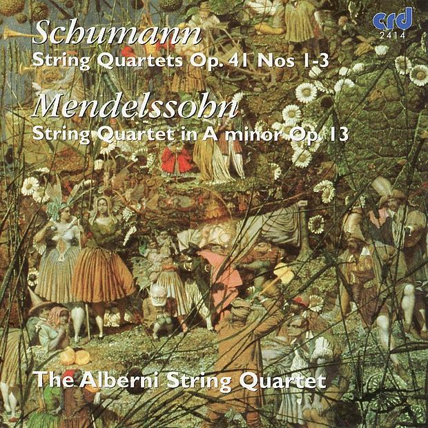 String Quartet in A Minor, Op. 41, No. 1: I. Introduzione - Andante Espressivo - Allegro