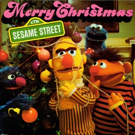 Sesame Street Merry Christmas From Sesame Street By