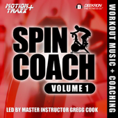 Spin Coach - Coached Spinning/Cycling Workout Music Mix - Interval-based Hill Ride With Master Instructor Gregg Cook