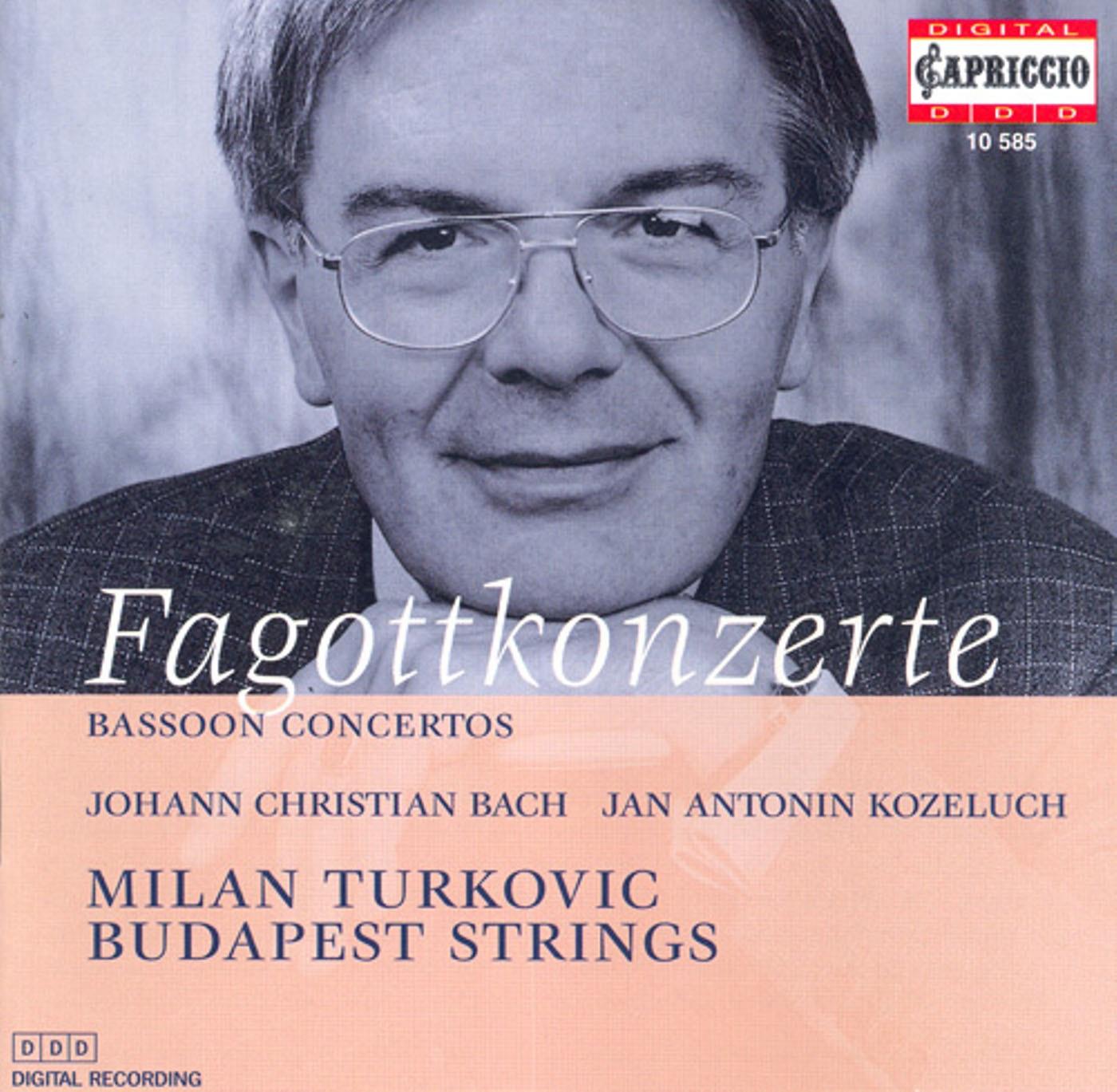 Bassoon Concertos - Bach, J.C. - Kozeluch, J.A.