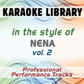 Liebe ist (Karaoke Version No Backing Vocal) [In the Style of Nena]
