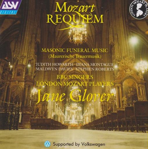 Mozart: Requiem, Maurerische Trauermusik