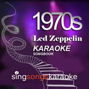 The Led Zeppelin 1970s Karaoke Songbook 1 - 1970's Karaoke Band - 1970's Karaoke Band