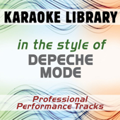 In the Style of Depeche Mode (Karaoke - Professional Performance Tracks)