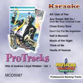 Karaoke - Hits of Andrew Lloyd Webber, Vol. 1