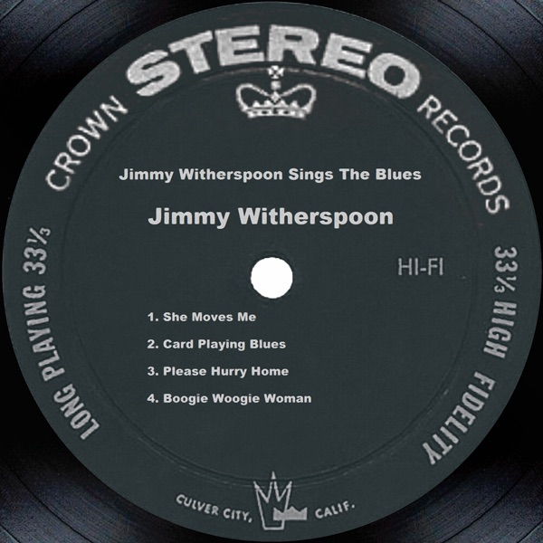 Jimmy Witherspoon Sings the Blues
