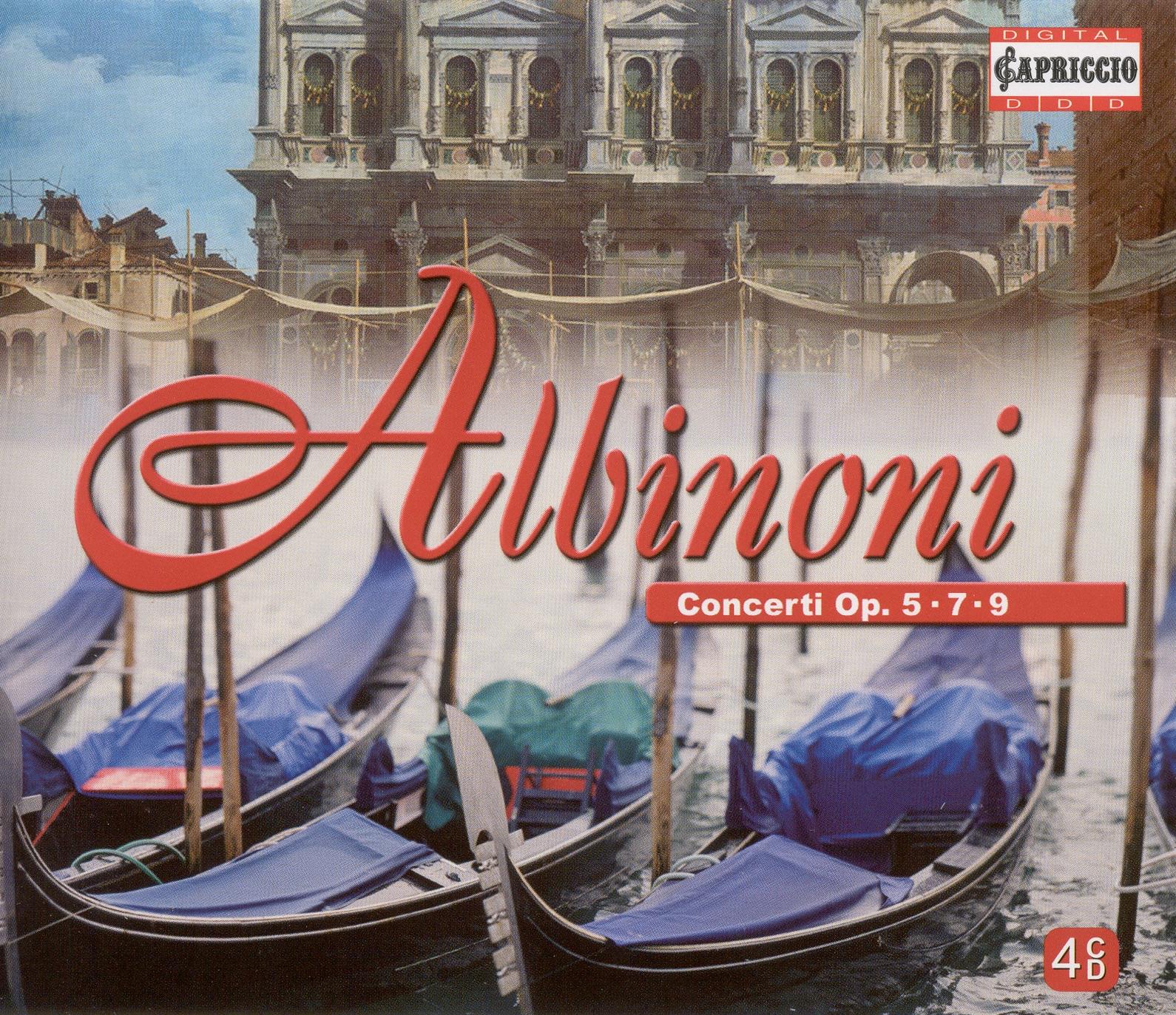 Albinoni, T.G.: Concertos, Opp. 5, 7 and 9