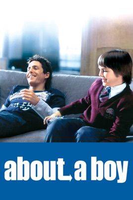 Poster of About a Boy 2002 Full Hindi Dual Audio Movie Download BluRay 720p