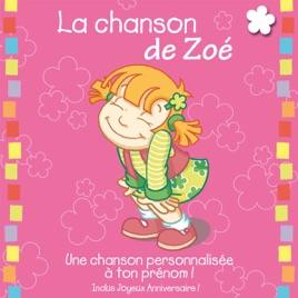 La Chanson De Zoe Album Personnalise Par Le Prenom By Leopold Et