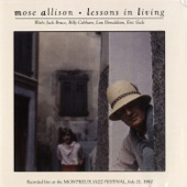Mose Allison - Wild Man On the Loose