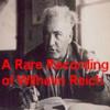Wilhelm Reich - A Rare Recording of Wilhelm Reich artwork
