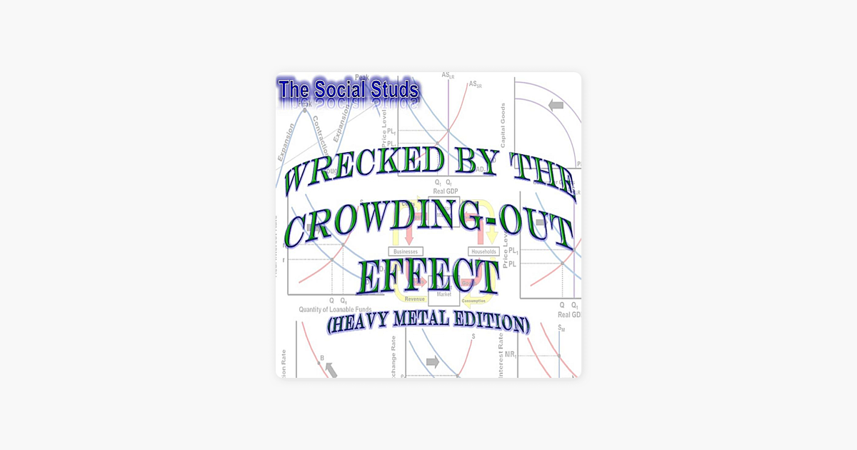 Wrecked by the Crowding-Out Effect (Heavy Metal Edition) - Single by  Social Studs