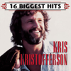 Kris Kristofferson - 16 Biggest Hits: Kris Kristofferson  artwork