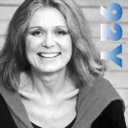 Gloria Steinem with Marie Wilson at the 92nd Street Y