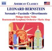 Leonard Bernstein - Serenade: IV. Agathon