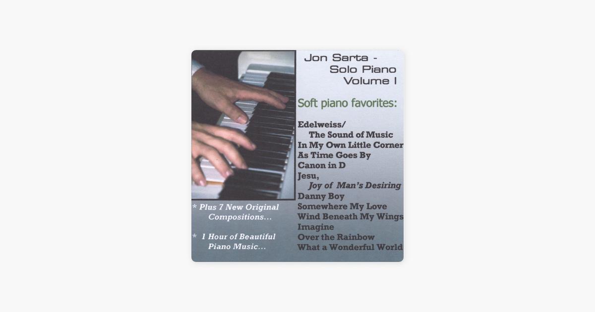 Solo Piano Volume I by Jon Sarta