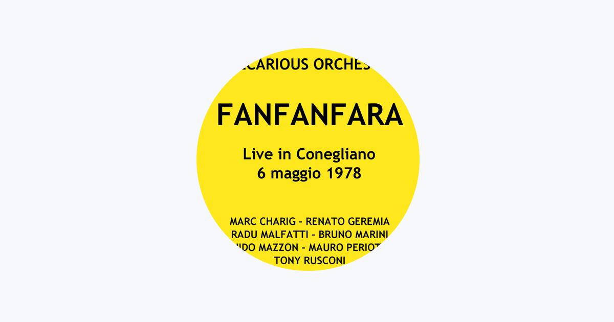Precarious Orchestra (Marc Charig, Renato Geremia, Radu Malfatti, Bruno Marini, Guido Mazzon, Mauro Periotto & Tony Rusconi) on Apple Music