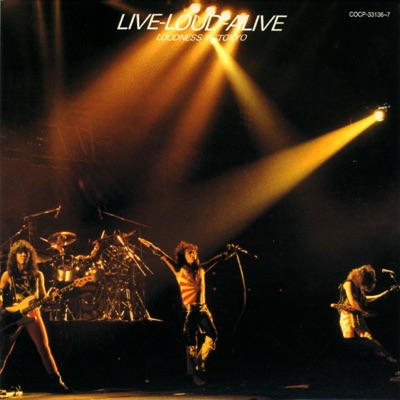LIVE-LOUD-ALIVE LOUDNESS IN TOKYO - Loudness
