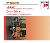 Anner Bylsma - BWV 1011 Suite for Violoncello No. 5 in C minor, I. Prélude