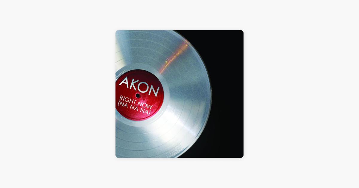 Right Now (Na Na Na) - Single by Akon