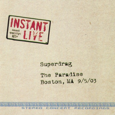 Live At the Paradise, Boston, MA - Superdrag