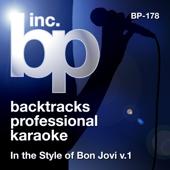 Karaoke - In the Style of Bon Jovi