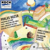 James Sedares - Three Hungarian Shetches, Op. 14: Capriccio - Allegro Capricciosa