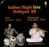 Indian Night Live: Stuttgart '88 - Pandit Hariprasad Chaurasia & Zakir Hussain
