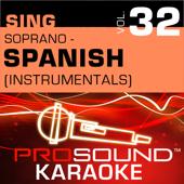 Contigo En La Distancia (Karaoke Instrumental Track) [In the Style of Christina Aguilera]