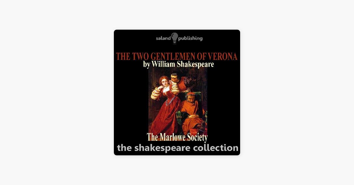 The Two Gentlemen of Verona (Unabridged) - William Shakespeare