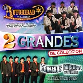 2 Grandes La Autoridad De La Sierra Brazeros Musical De Durango