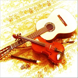 Violin And Classical Guitar Wedding Ceremony Music In Baroque Renaissance Romantic Styles