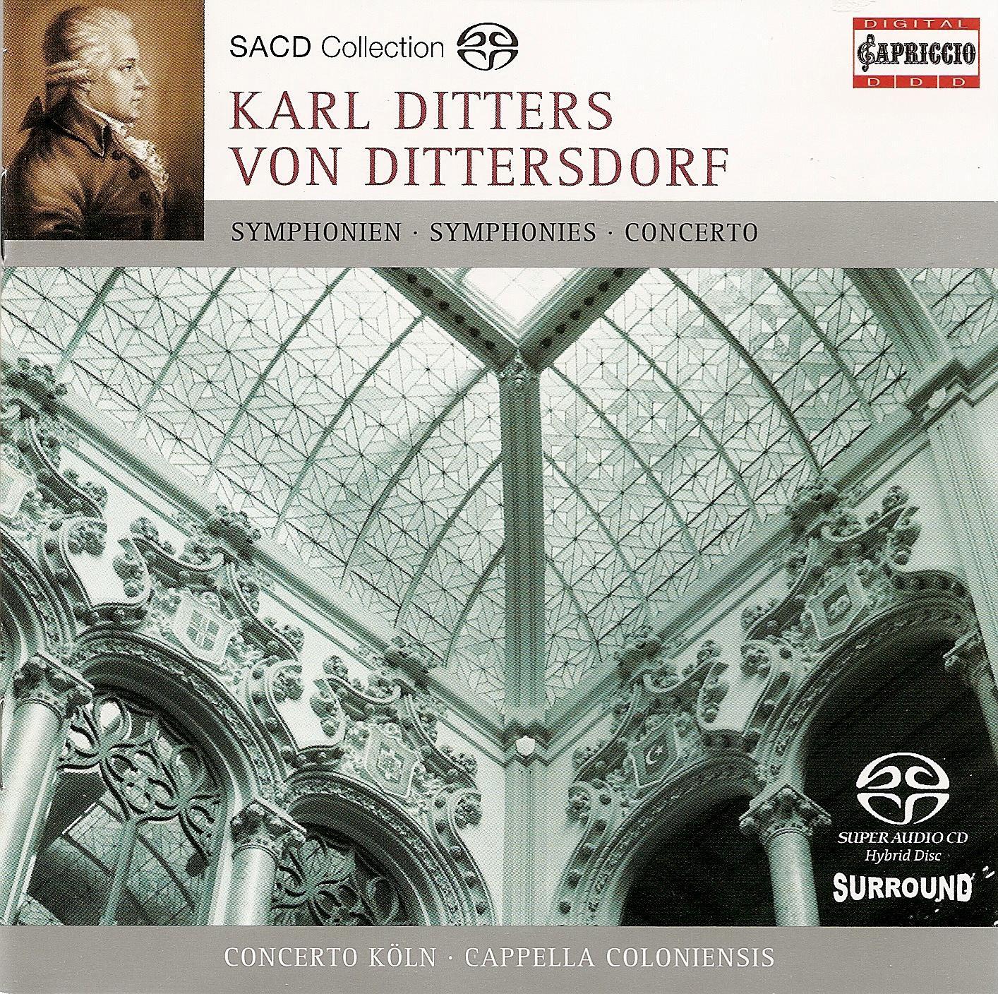 Dittersdorf, C.D. Von: Harp Concerto in A Major - La Prise De La Bastille - Die 4 Weltalter
