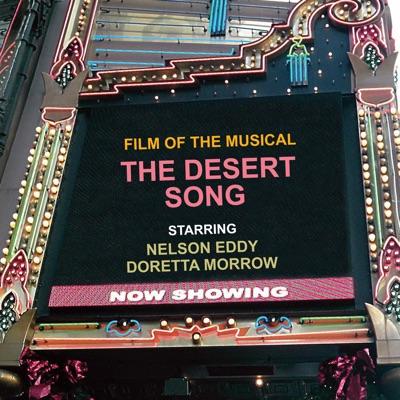 Romberg's The Desert Song - Nelson Eddy