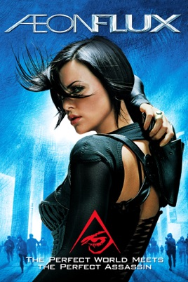 Poster of Æon Flux 2005 Full Hindi Dual Audio Movie Download BluRay 720p