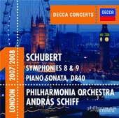 Musik: Franz Schubert (1797-1828): Symphony No. 8 in B Minor, D. 759, 'The Unfinished': II. Andante con moto<br>Medvirkende: Philharmonia Orchestra & András Schiff