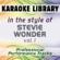 Overjoyed (Karaoke Version No Backing Vocal) [In the Style of Stevie Wonder] - Karaoke Library