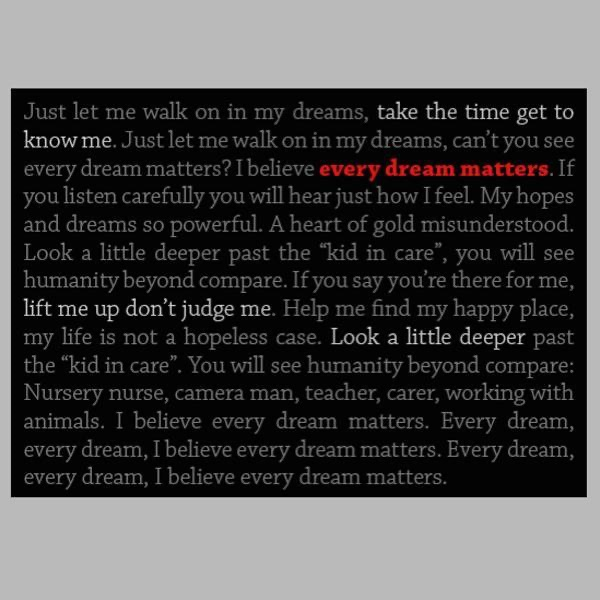 Every Dream Matters