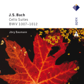 Cello Suite No. 1 in G Major, BWV 1007: I. Prelude - J�rg Baumann